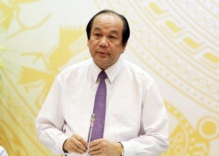 Bộ trưởng - Chủ nhiệm Văn phòng Chính phủ Mai Tiến Dũng.
