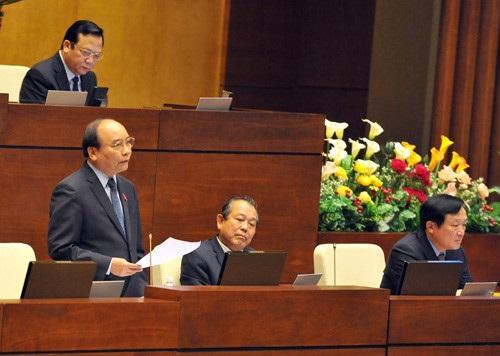 Các thành viên Chính phủ khoá này sẽ lần đầu tiên đăng đàn trả lời chất vấn tại kỳ họp thứ 2 của Quốc hội (ảnh: Quochoi.vn).