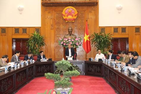 Phó Thủ tướng Trương Hoà Bình chủ trì cuộc họp về cải cách hành chính (ảnh: VGP).