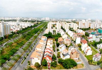 Với chủ trương không tách người nghèo khỏi khu vực của người giàu, các khu đô thị đều phải dành quỹ đất nhất định để làm nhà ở xã hội. (Ảnh: T.L)