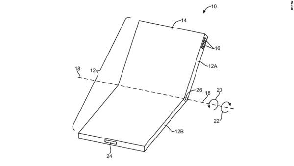 Smartphone trang bị màn hình uốn cong và gập được sắp lộ diện? - 2