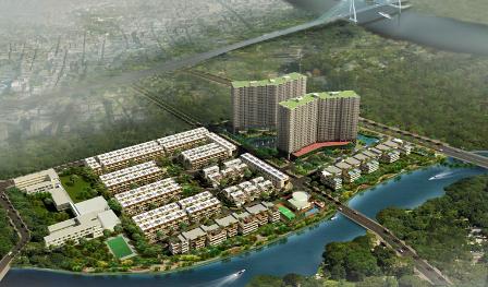 48/48 nền đất tại dự án Jamona City do Sacomreal đầu tư đã bán hết trong ngày đầu mở bán