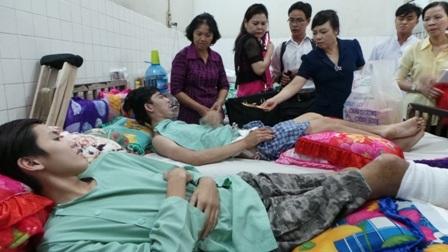 Những ca bệnh nặng phải nằm lại bệnh viện điều trị