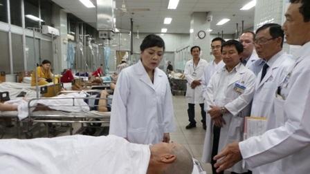 Tại bệnh viện Chợ Rẫy nhiều bệnh nhân nhập viện do rượu bia