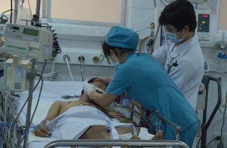 Sau 5 ngày điều trị tích cực, tình trạng bệnh nhân vẫn chưa cải thiện