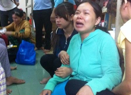 Chị Hà đau đớn sau cái chết của đứa con trai