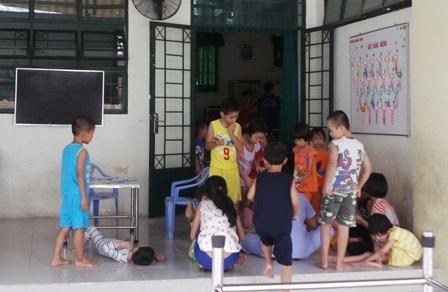 Khoa Măng non - nơi nhiều bé đã bị bảo mẫu hành hạ dã man