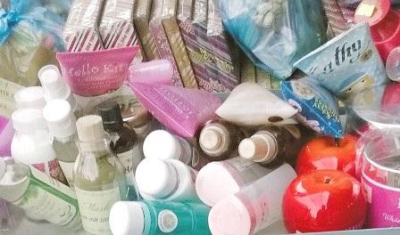Mỹ phẩm kém chất lượng bán tại chợ Bắc Ninh, quận Thủ Đức, TPHCM