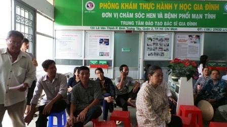 Phòng khám bác sĩ gia đình triển khai tại bệnh viện quận 2