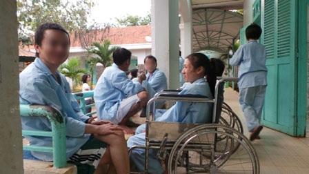 Bệnh nhân HIV/AIDS điều trị tại bệnh viện Nhân Ái