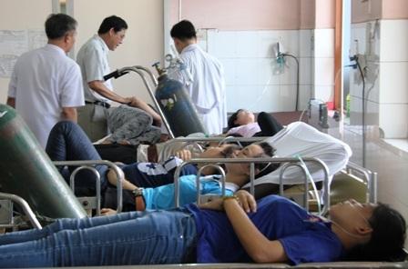 Cả trăm công nhân đã phải nhập viện cấp cứu