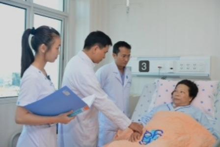 Sức khỏe bệnh nhân nhanh chóng bình phục sau phẫu thuật
