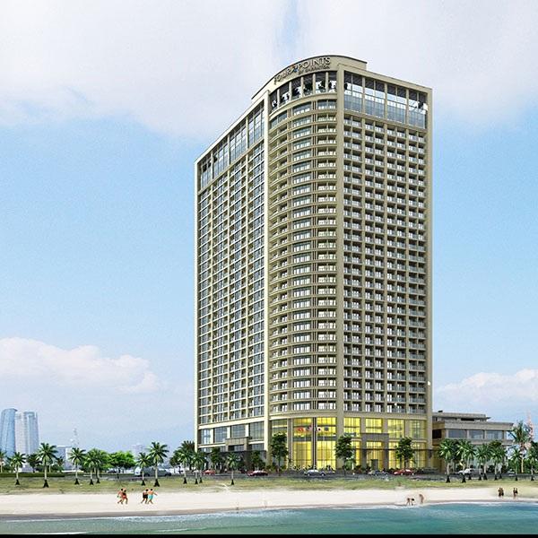 Vị trí đắc địa của Luxury Apartment tại Đà Nẵng