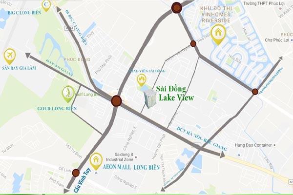 Ngoài thuận lợi về giao thông kỹ thuật hạ tầng đồng bộ dự án Sài Đồng Lake View còn nổi bật với những thông số sau