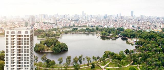 """Mua nhà tại HDI Tower giống như """"mua một mét vuông nhà, sở hữu cả công viên mặt nước""""."""