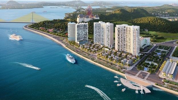 Cụm dự án tại số 1 Bến Đoan, Hòn Gai của DOJILAND sẽ là bộ mặt của Hạ Long với du khách và bạn bè quốc tế.