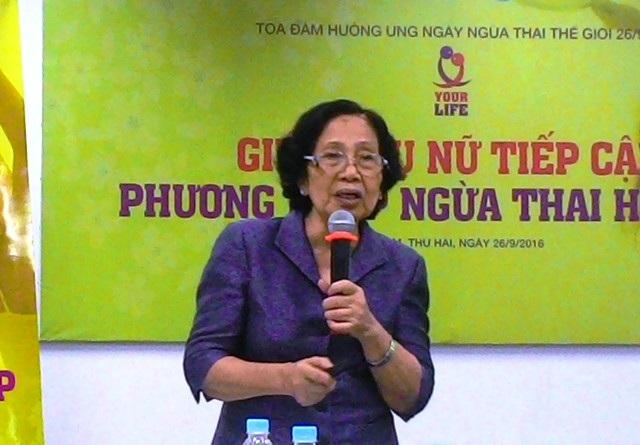 GS-BS Nguyễn Thị Ngọc Phương nói về thực trạng phá thai đau lòng ở Việt Nam