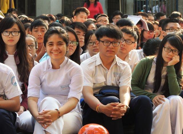 Học sinh Trường THPT Nguyễn Thị Diêu, TPHCM tham gia chuyên đề tránh kỳ thị trong học đường