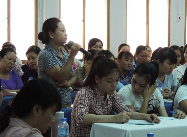 Bảo mẫu tại các trường học ở quận Tân Bình, TPHCM chia sẻ làm việc hàng chục năm, thu nhập chỉ trên dưới 3 triệu đồng