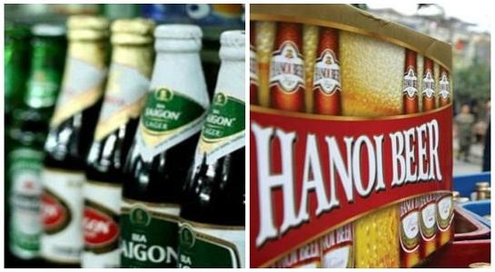 Cổ phiếu bia đang làm náo động thị trường chứng khoán