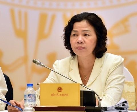 Thứ trưởng Bộ Tài chính Vũ Thị Mai (ảnh: VGP)