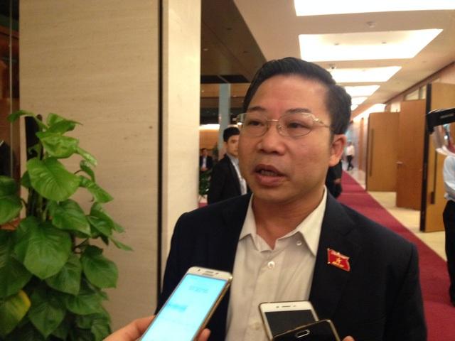 Đại biểu Lưu Bình Nhưỡng:Bộ trưởng Trần Tuấn Anh sẽ trả lời câu hỏi của tôi
