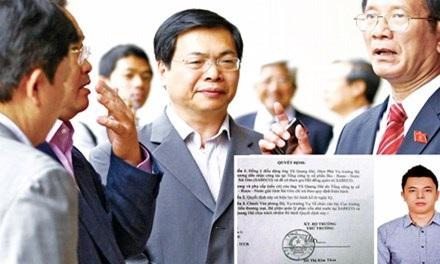 Vụ việc về cựu Bộ trưởng Vũ Huy Hoàng để lại nhiều suy nghĩ về vấn đề tổ chức nhân sự