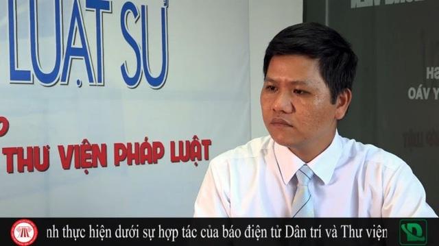 Luật sư Nguyễn Đức Chánh.