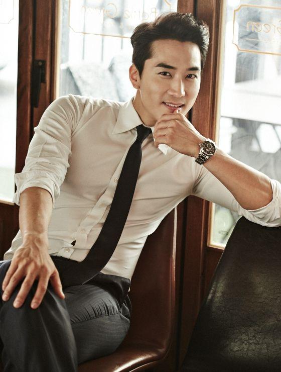 Sự nghiệp phim ảnh của Song Seung Hun càng ngày càng mở rộng nhờ sự thành công của vai diễn đầu tay. Ảnh: TL.