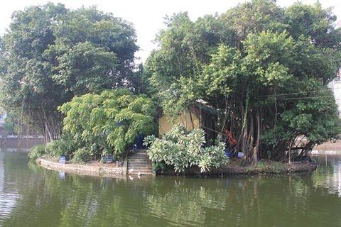 Hồ Văn nơi phát hiện xảy ra sai phạm.