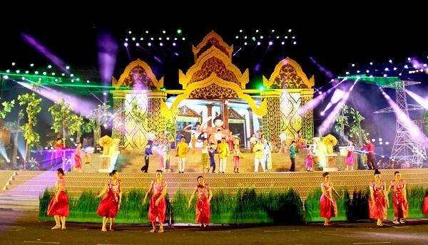 Ngày hội văn hóa, thể thao và du lịch Khmer Nam bộ lần thứ VI. Ảnh: TL.