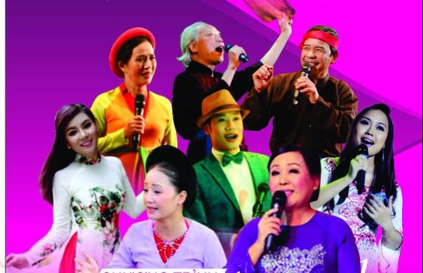 Các nghệ sĩ, nghệ nhân, ca sĩ tham gia biểu diễn trong chương trình. Ảnh: BTC.