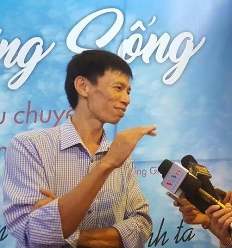 Đại diễn Đặng Hồng Giang. Ảnh: TL.