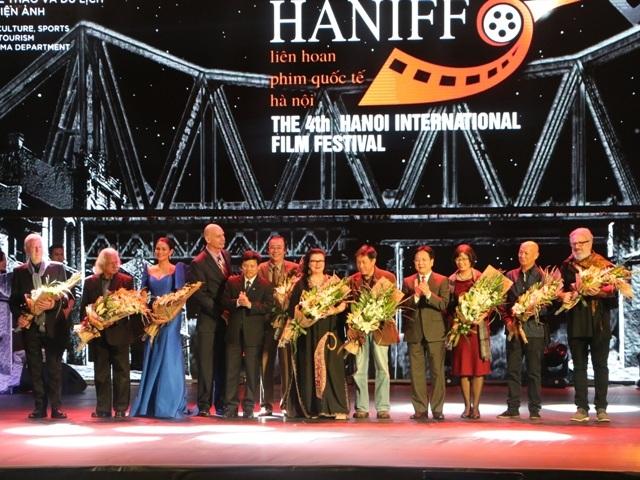 Liên hoan phim quóc tế Hà Nội lần thứ IV. Ảnh: TL.