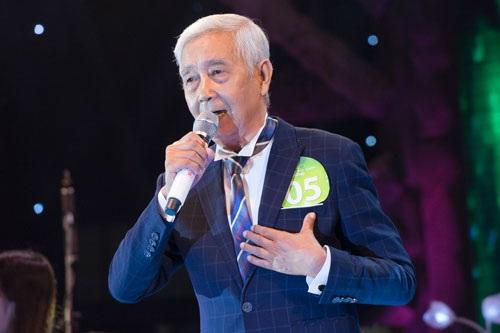 Cụ ông 78 tuổi lọt vào chung kết Tiếng hát mãi xanh từng khiến nhiều khán giả trẻ khâm phục. Ảnh: TL.