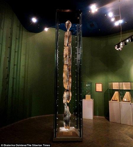Hiện bức tượng gỗ Shigir đang được cất giữ tại Viện bảo tàng Lịch sử Yekaterinburg (Nga).