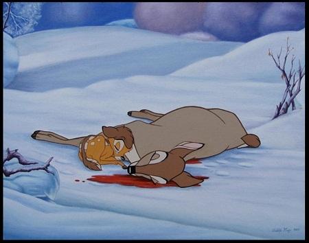 Phim hoạt hình dành cho thiếu nhi chứa nhiều cảnh chết chóc