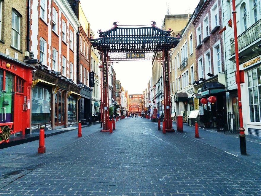 Khu phố Tàu China Town, Soho