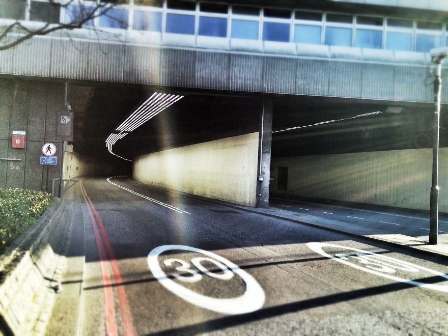 Đường hầm giao thông ở khu Upper Thames