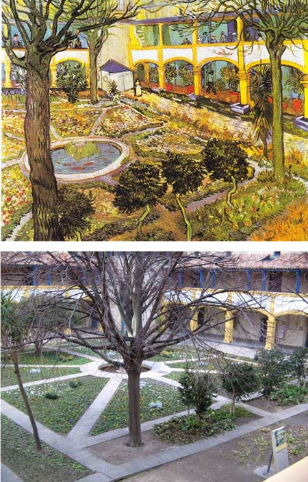 """Bức """"Ngôi nhà màu vàng"""" của Vincent van Gogh khắc họa quang cảnh ở thành phố Nice, Pháp."""