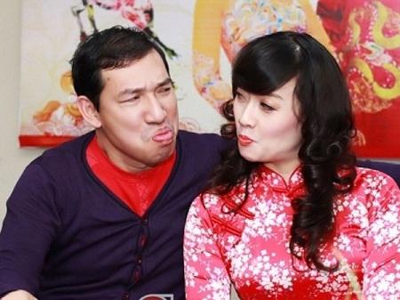 Quang Thắng và người bạn tri kỷ - Vân Dung. (Ảnh: Nhân vật cung cấp)