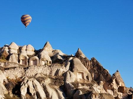 Tận mắt chiêm ngưỡng thế giới cổ tích có thật ở Cappadocia, Thổ Nhĩ Kỳ.
