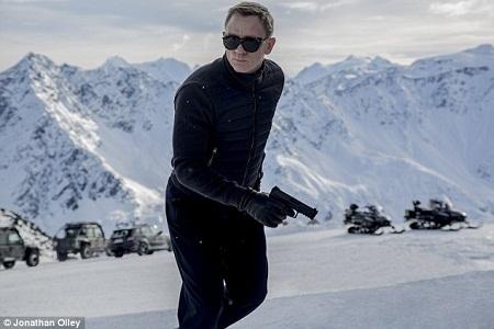 Cảnh quay trong nghĩa trang của Điệp viên 007 bị thất bại