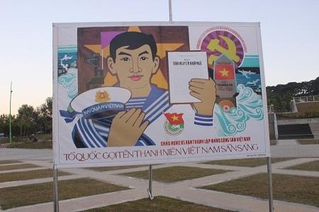 Tổ quốc gọi tên thanh niên Việt Nam sẵn sàng