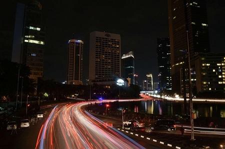 Quận trung tâm ở thành phố Jakarta, Indonesia.
