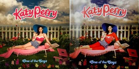 "Bìa album ""One of the Boys"" của Katy Perry."