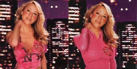 Tất cả các album của Mariah Carey trước khi vào thị trường Trung Đông đều đã qua chỉnh sửa.