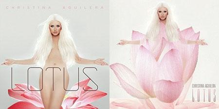 """Christina Aguilera """"tút tát"""" lại bìa album trước khi chinh phục người nghe nhạc Ả Rập."""