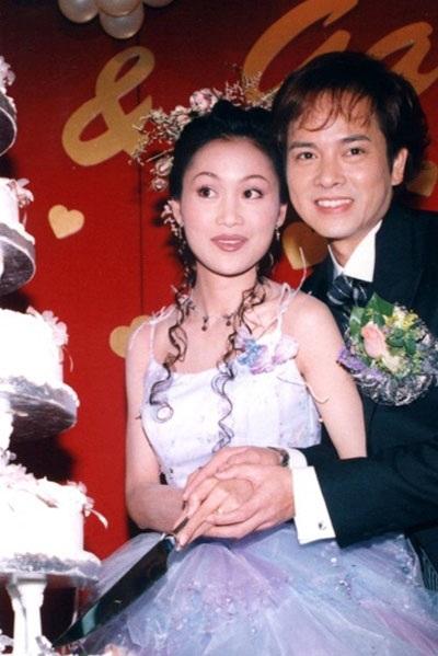 Lương Tiểu Băng và Trần Gia Huy trong hôn lễ