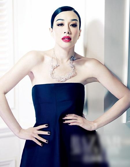 Nữ diễn viên người Canada gốc Việt - Chung Lệ Đề
